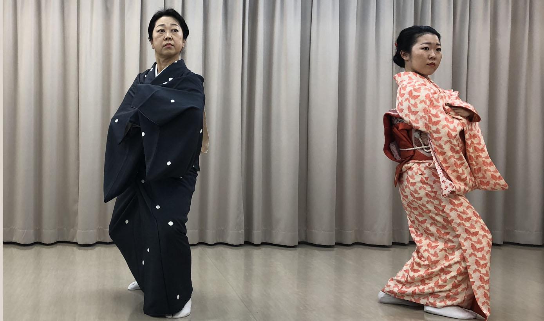 はじめての日本舞踊 (花柳流)④