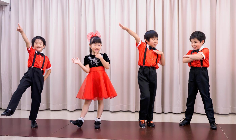 キッズ タップダンス ②