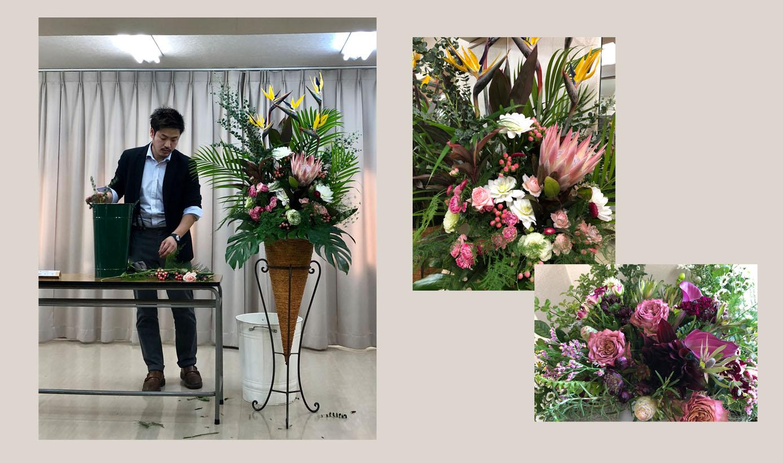花と緑の教室 ~花遊日~④