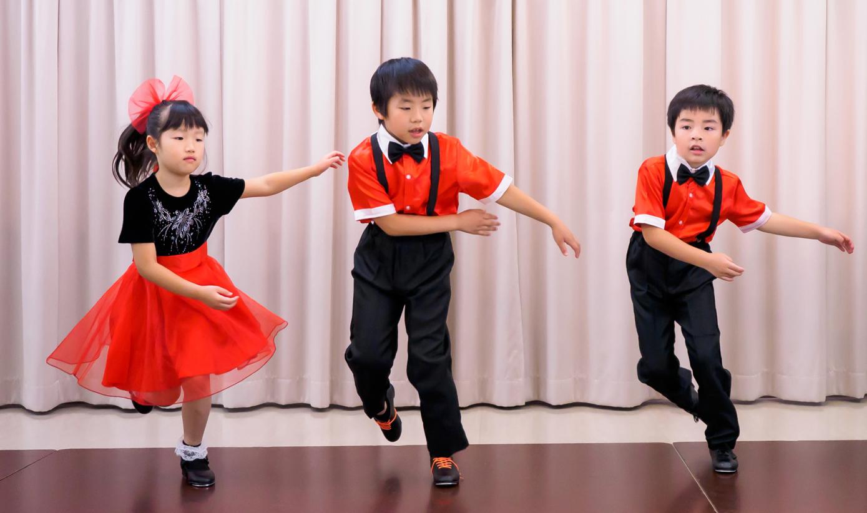 キッズ タップダンス ①