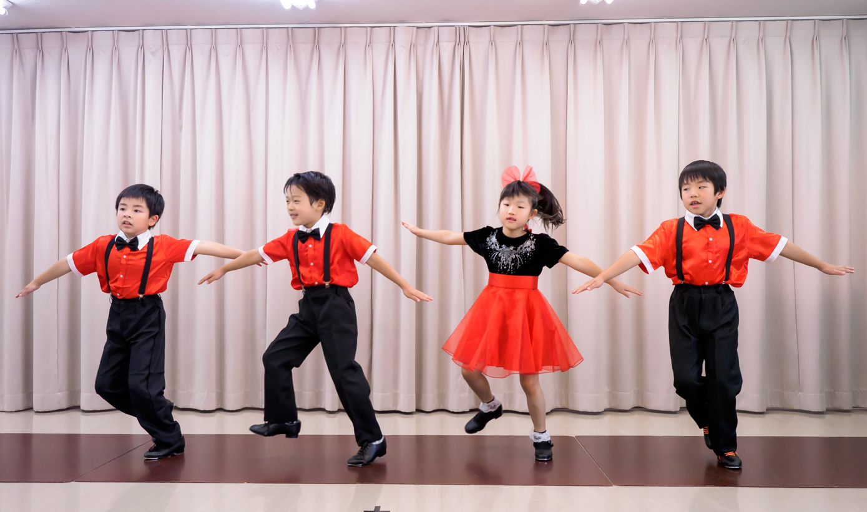 キッズ タップダンス ③