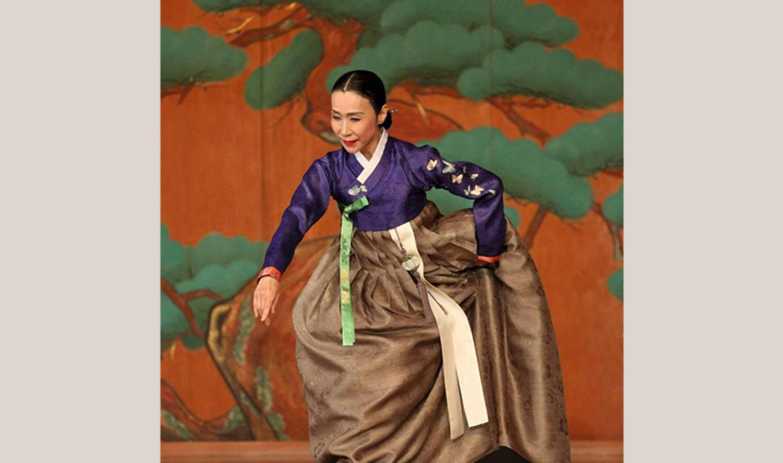 はじめての韓国舞踊②