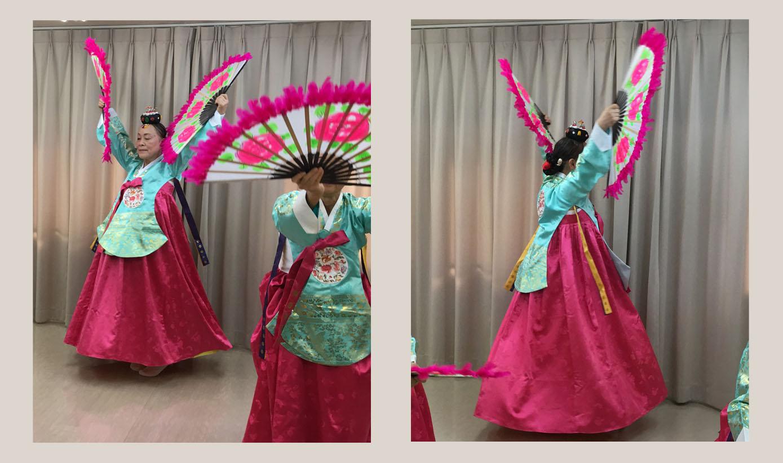 韓国舞踊③