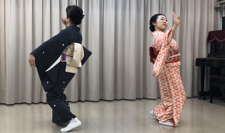 はじめての日本舞踊 (花柳流)③