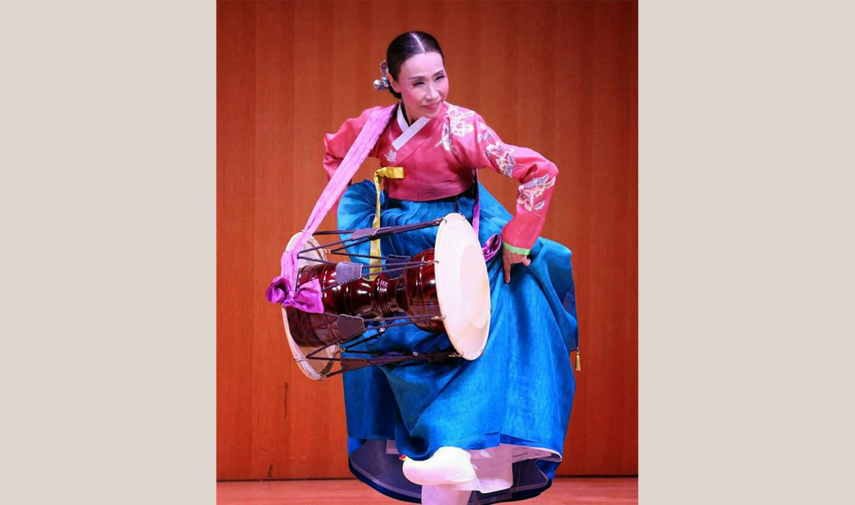 はじめての韓国舞踊③