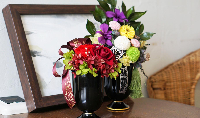 お花と器のお教室①